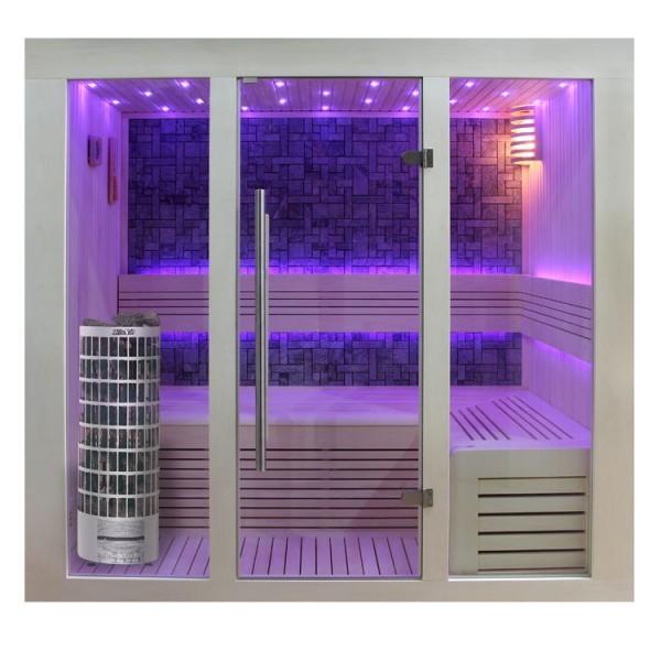 AWT Sauna E1216 Pappelholz