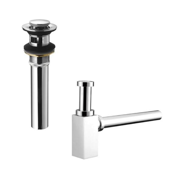 EAGO Armatur Abfluss PX35-1P mit Designer Siphon