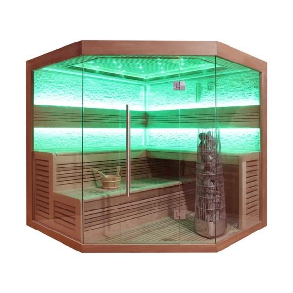 AWT Sauna E-B 1242 A/B/C rote Zeder