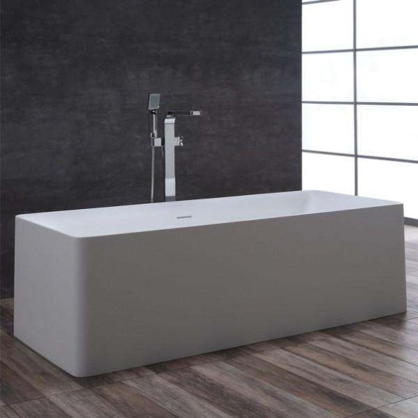 StoneArt Badewanne freistehend BS-509 weiß 181x82