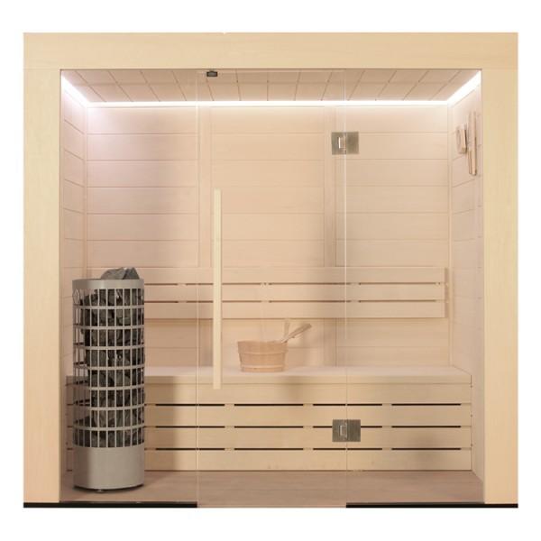 AWT Sauna E1203 Pappelholz
