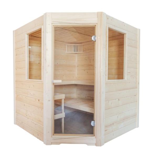 Harvia Sentiotec Sauna Basic Corner 195x187x204cm