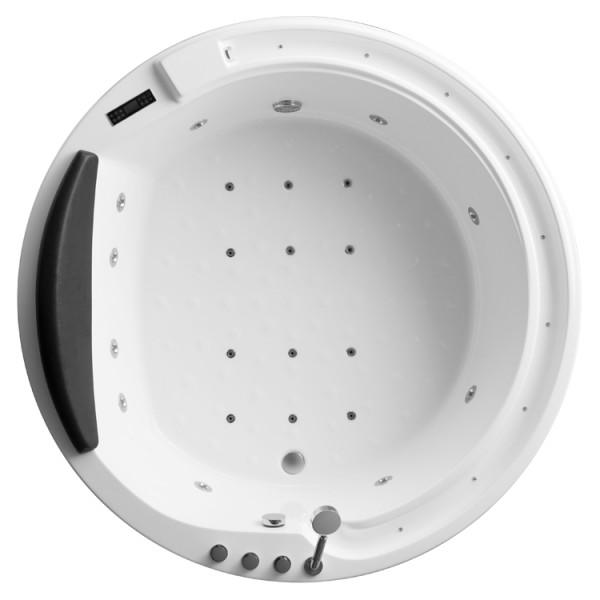 AWT Whirlpool Whirlwanne GE103TSL 180x180cm