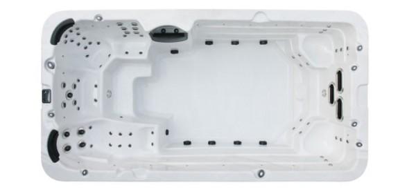 EO-SPA Swim-Spa Innovation IN-4.5 Silver Ausstellungsstück