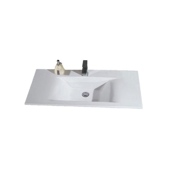 Einbau- Aufsatzwaschbecken Eago BA127-1E mit Nano-Effekt 80cm breit