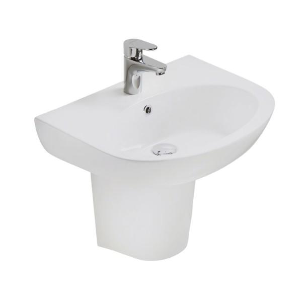 Waschbecken EAGO BD379E mit Halbsäule