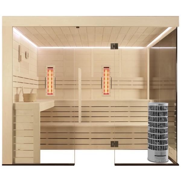 AWT Sauna E1205 Pappelholz