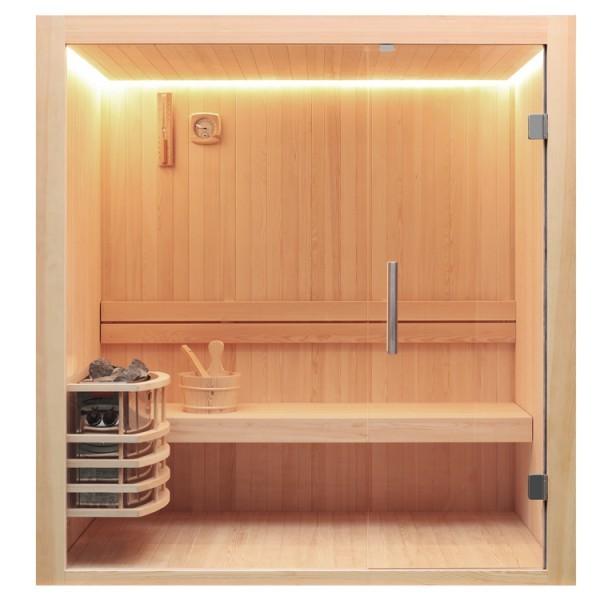 EO-SPA Sauna E1803 Pinenholz