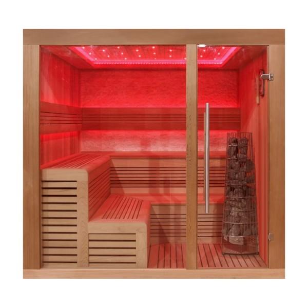 AWT Sauna E-B 1243 A/B/C rote Zeder