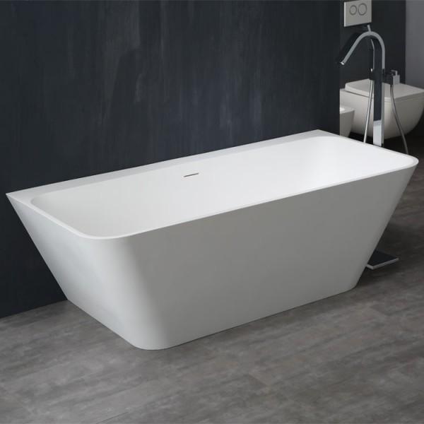 StoneArt Badewanne freistehend BS-519 weiß 180x85 matt