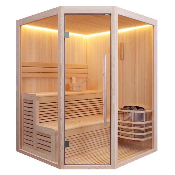 EO-SPA Sauna E1801 Pinienholz
