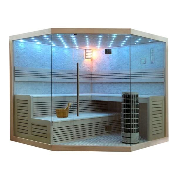 AWT Pappelholz Sauna E1101 Pappelholz