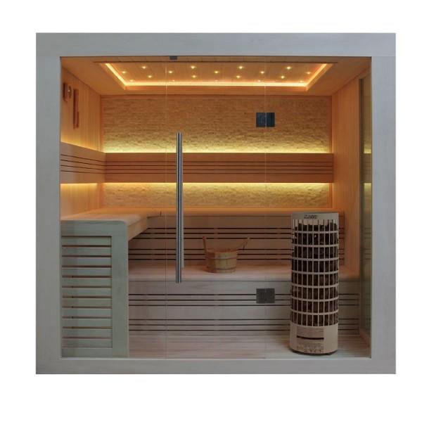 AWT Sauna E1247 Pappelholz