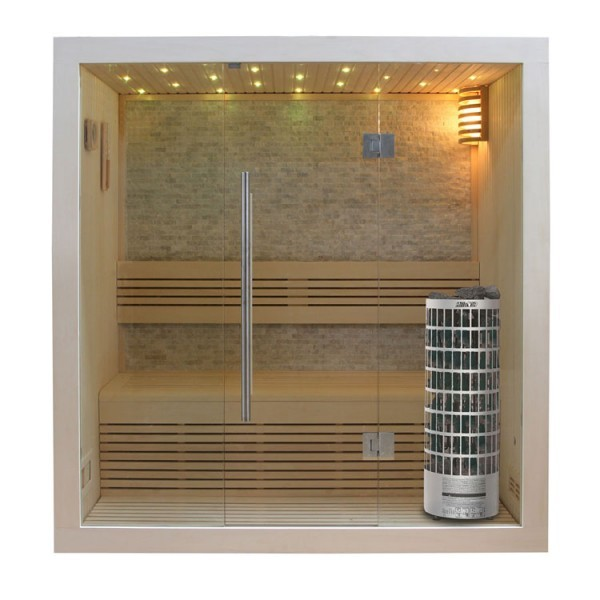 AWT Sauna E1103 Pappelholz