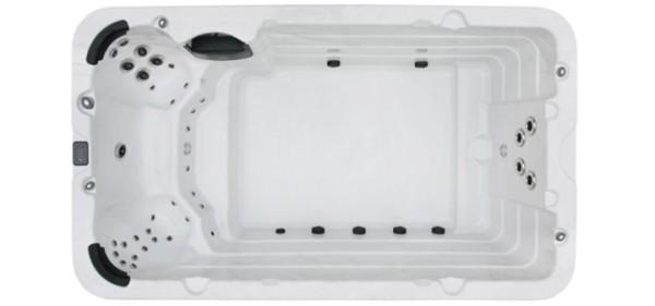 EO-SPA Swim-Spa Innovation IN-04 Silver Marbel