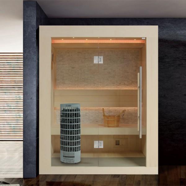 AWT Sauna E1252 Pappelholz