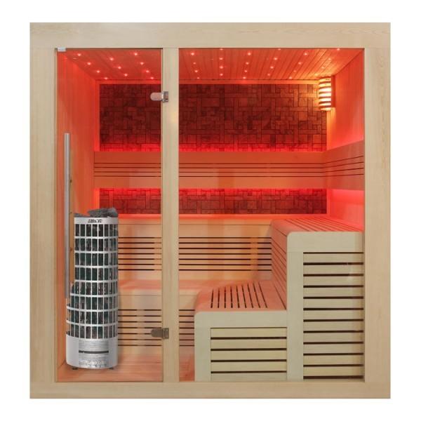 AWT Sauna E1213 Pappelholz