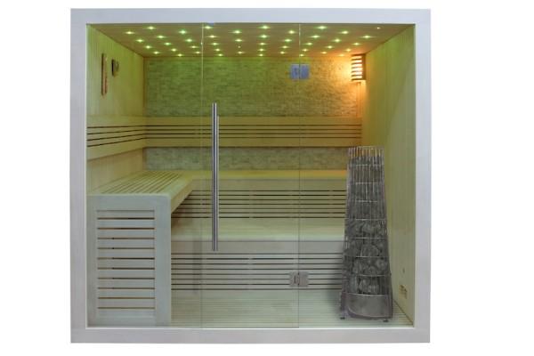 AWT Sauna E1102 Pappelholz