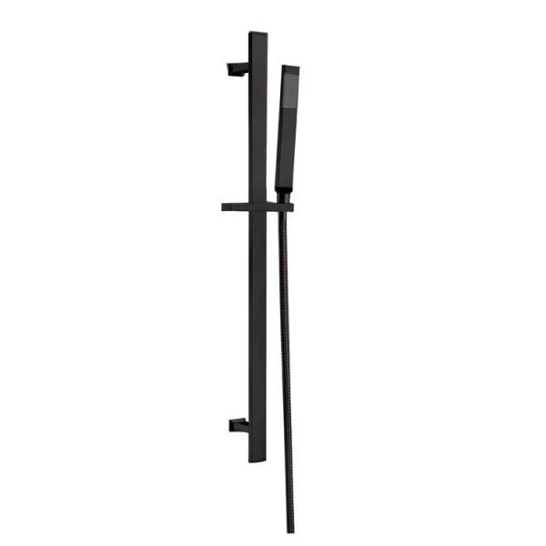STONEART Handbrausen-Set 870408-1 schwarz matt