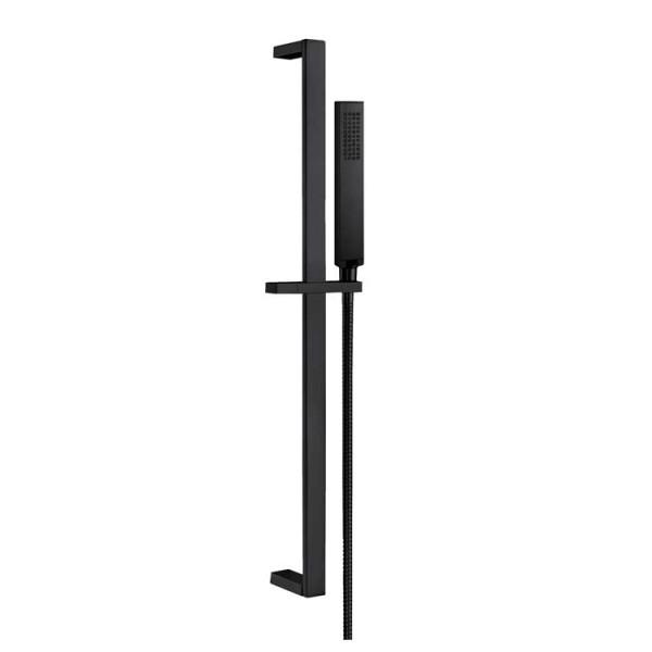 STONEART Handbrausen-Set 870898-1 schwarz matt